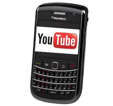 Download and convert youtube video to BlackBerry mobile phones